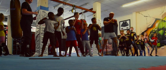 education kis boxing at unique gym