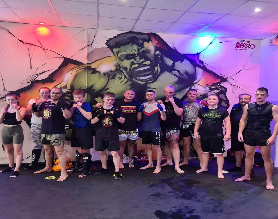 adult kickboxing members