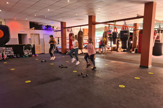 ladies body blitz classes at unique gym in medway kent