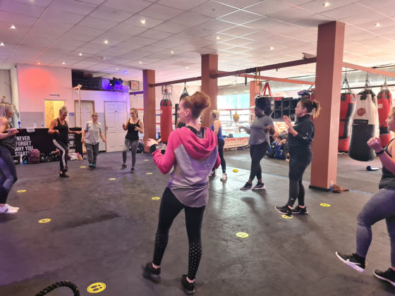 ladies body blitz class helps with mental health